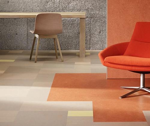 Marmoleum linoleum office space | Markville Carpet & Flooring