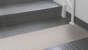 Rubber stairs | Markville Carpet & Flooring