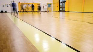 Basketball gym flooring | Markville Carpet & Flooring