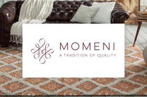 Momeni logo | Markville Carpet & Flooring