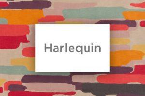 Harlequin logo | Markville Carpet & Flooring
