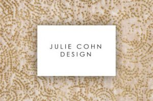 Julie cohn design logo | Markville Carpet & Flooring