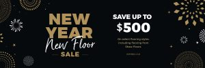 New Year New Floors Sale | Markville Carpet & Flooring