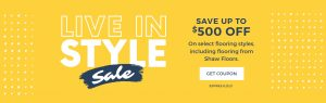 Live in Style Sale | Markville Carpet & Flooring