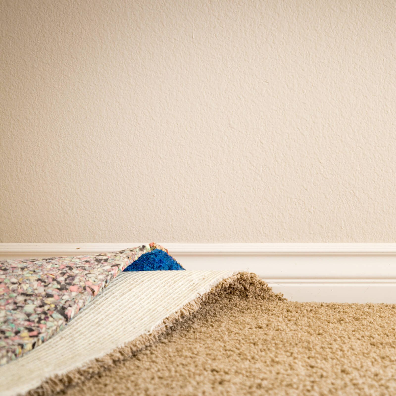 Carpet installation with padding | Markville Carpet & Flooring